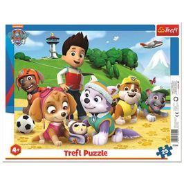 Trefl Puzzle deskové Paw Patrol/Tlapková patrola 25 dílků