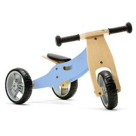 Nicko - Dřevěné odrážedlo 2v1 mini - modré