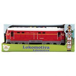 Lokomotiva/Vlak červená