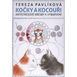 Kočky a kocouři: Antistresové kresby k vybarvení