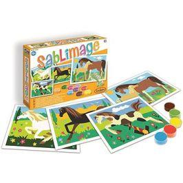 SentoSphere sablimage: pískové obrázky - koně
