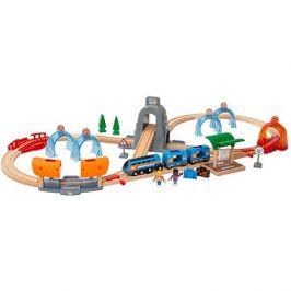 Brio World 33972 SMART TECH SOUND Cestovní set s tunely