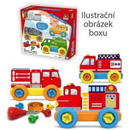 Malý mechanik plastový Junior - hasiči