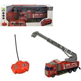 Auto hasičské se žebříkem, na dálkové ovládání, 4-kanál