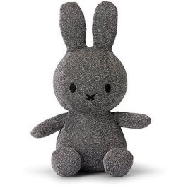 Miffy Sitting Sparkle Silver 23 cm