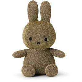 Miffy Sitting Sparkle Gold 23 cm
