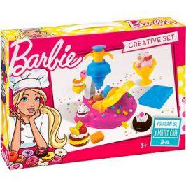 Barbie - Barevná modelína - Dortíky se zdobítkem