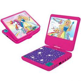 Barbie Přenosný DVD přehrávač 7 s rotující obrazovkou a sluchátky