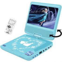 Frozen Přenosný DVD přehrávač 7 s rotující obrazovkou a sluchátky