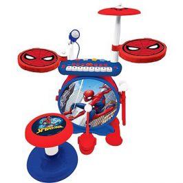 Spider-man Set elektrických bubnů se sedátkem
