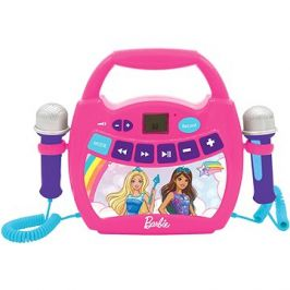 Barbie Přenosný digitální hudební přehrávač s 2 mikrofony