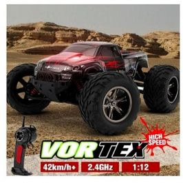 Monster Truck 1:12 červený