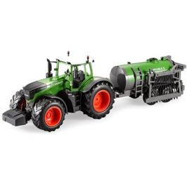 Traktor Fendt s funkční kropící cisternou 1:16