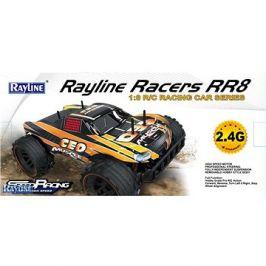 Auto RACERS 1:8 žlutý