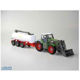 RC kolový traktor s cisternou 1:28