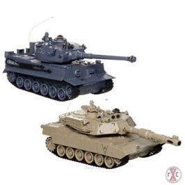 Sada bojujících tanků 2,4 GHz Abrams & German Tiger