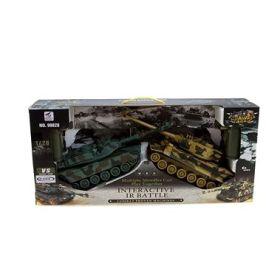 Sada bojujících tanků 2,4 GHz Leopard& German Tiger