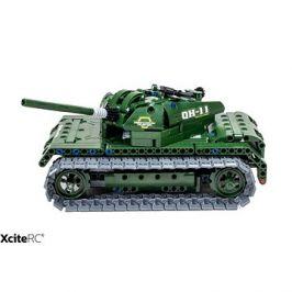 RC tank & samohybné dělo 2v1 teknotoys active  bricks