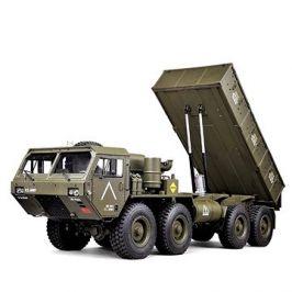 MilitaryTruck se sklápěcí korbou 1:12 RTR zelený 8x8