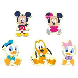 Derrson Disney Dřevěné puzzle Mickey a přátelé