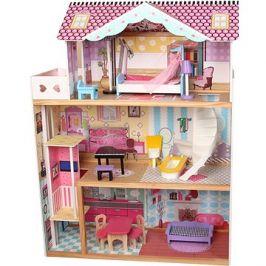 Wiky Dřevěný domek pro panenky 82x30x110 cm