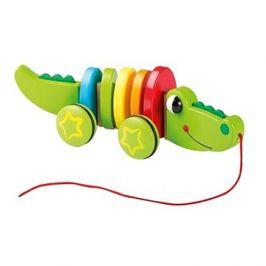 Jouéco dřevěný Krokodýl
