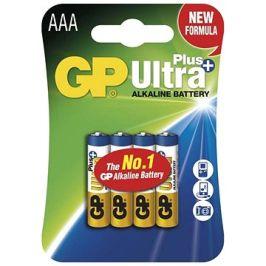 GP Ultra Plus Alkaline LR03 (AAA) 4ks v blistru