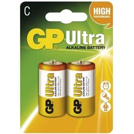 GP Ultra Alkaline LR14 (C) 2ks v blistru