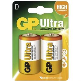 GP Ultra Alkaline LR20 (D) 2ks v blistru