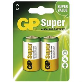 GP Super Alkaline LR14 (C) 2ks v blistru