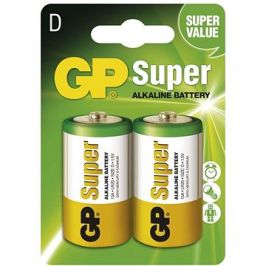 GP Super Alkaline LR20 (D) 2ks v blistru