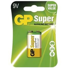 GP Super Alkaline 9V 1ks v blistru
