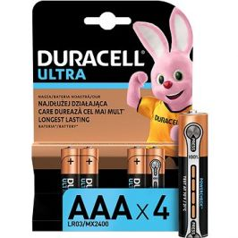 Duracell Ultra AAA 4 ks