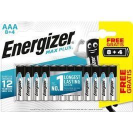 Energizer MAX Plus AAA 8 + 4 ks zdarma
