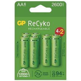 GP ReCyko 2700 AA (HR6), 6 ks