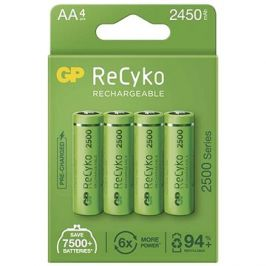 GP ReCyko 2500 AA (HR6), 4 ks