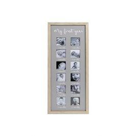 Fotorámeček dřevěný 55x22x1,5cm