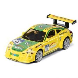 Siku Racing - Porsche 911 GT3 RSR s dálk. ovladačem a baterií 1:43
