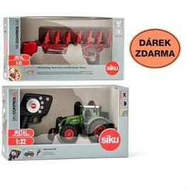 Siku Control - limitovaná edice traktor Fendt 939 + oboustranný pluh 6783  1:32