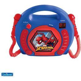 Spider-man Přensný CD přehrávač s 2 mikrofony