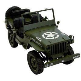 Legendární Jeep Willys 1:12 zelený
