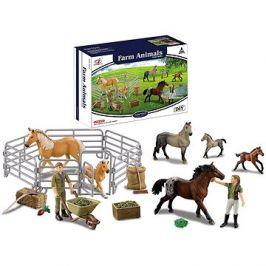 Sada dostihových koní