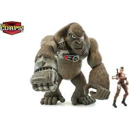 Jurassic Clash Gorila Cyber-Kong s Amazonkou 23 cm