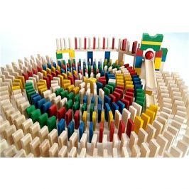 EkoToys Domino barevné 830 ks