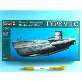 Plastic ModelKit ponorka 05093 - U-Boot Typ VIIC