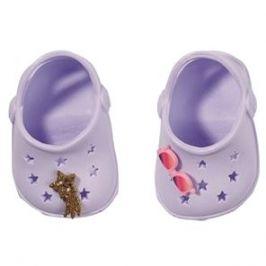 BABY born Gumové sandálky - fialové
