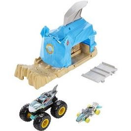 Hot wheels Monster trucks velké nesnáze modrý