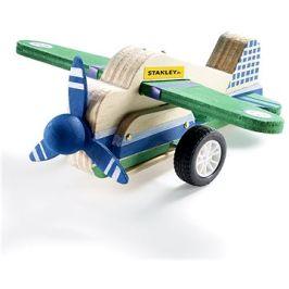 Stanley Jr. JK029-SY Stavebnice, letadlo, dřevo