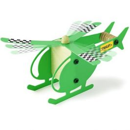 Stanley Jr. OK040-SY Stavebnice, vrtulník, dřevo
