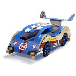 Stanley Jr.K004-SY Stavebnice, závodní  auto, dřevo